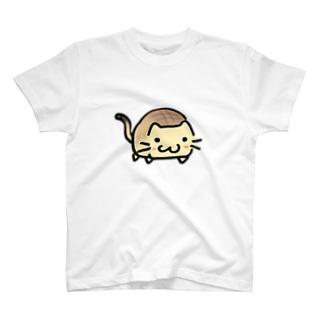 ネコぱん(メロンパン) T-shirts