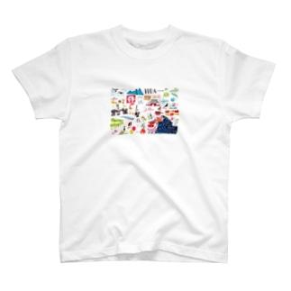 飯田市のイラスト T-shirts