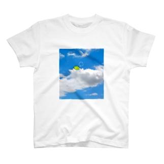 きみどりのくま いん ざ すかい T-shirts
