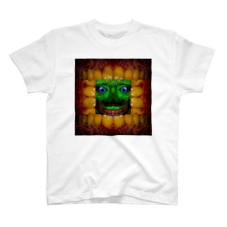歯茎皺さん T-shirts
