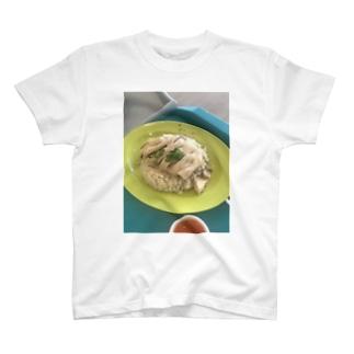 yu_li51のシンガポールチキンライス T-shirts