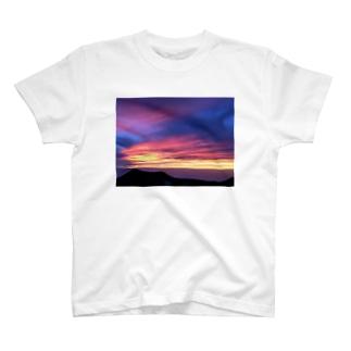 ハワイのサンセット T-shirts