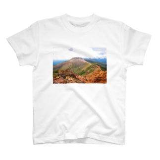 茶臼岳 T-shirts