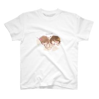 2人でお昼寝 T-shirts