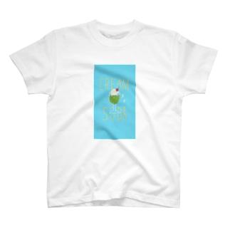 季節外れのクリームソーダ T-shirts