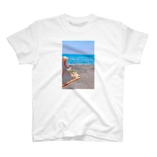 うみでぱん T-shirts