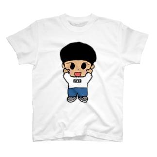 黒髪ふじぴ T-shirts