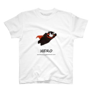 くまモンのTシャツ #HERO T-shirts