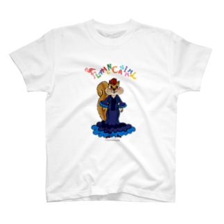 FLAMENCANIMAL(フラメンカニマル)リス T-shirts