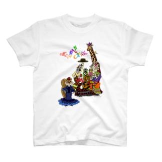 FLAMENCANIMAL(フラメンカニマル)集合 T-shirts