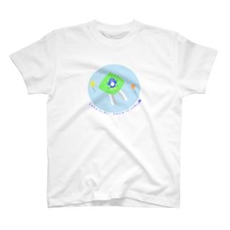 空飛ぶペンペン T-shirts