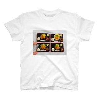 とんかつ屋さんの定食 T-shirts