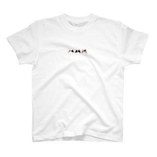 つぎはぎにゃんこ T-shirts