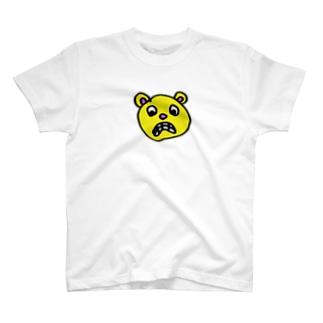 びっくりしてるクマ T-shirts