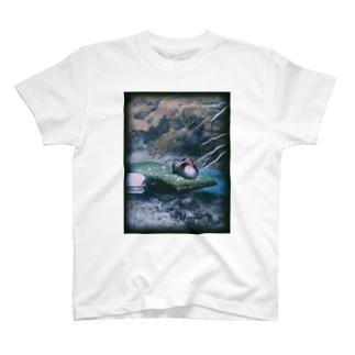 水鳥 T-shirts