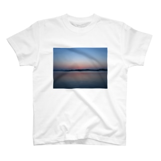 自然が織り成すグラデーション T-shirts