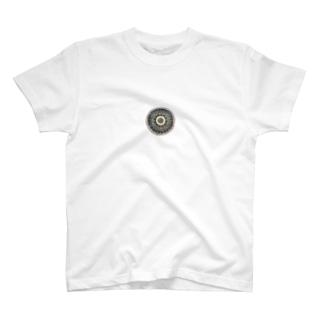 ウズベキスタンの丸模様 T-shirts