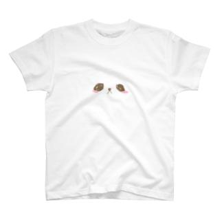 動物の顔 T-shirts