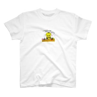 トラちゃんの幸せな朝 T-shirts