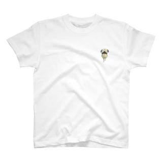 ぱぐたむ。うれしい T-shirts