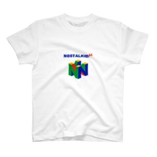 NOSTALKIDZ 任天堂 T-shirts