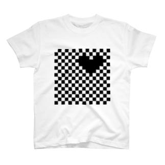 チカチカハート T-shirts