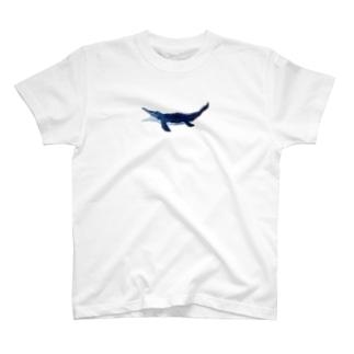 刺繍モササウルスくん T-shirts