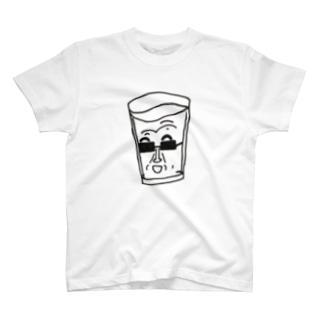 国内から採水された陽水 T-shirts