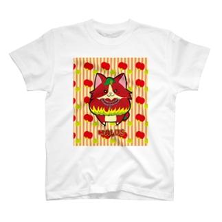 [フルーツ猫シリーズ]マルス T-shirts