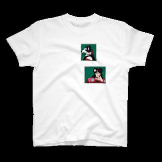 Wave180のStrange Men T-shirts