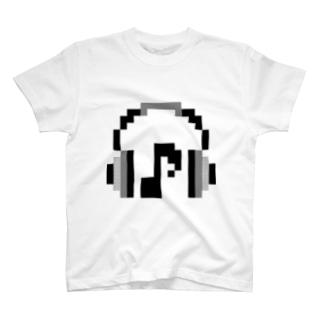 ヘッドフォン T-shirts