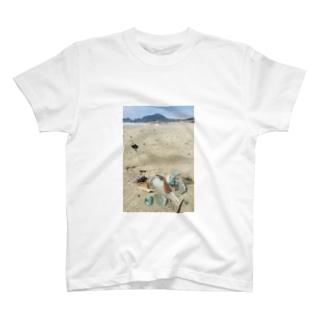 海とガラス T-shirts