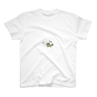 カメレオンのぐりー T-shirts