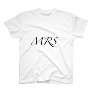 おそろいTシャツ MRS T-shirts