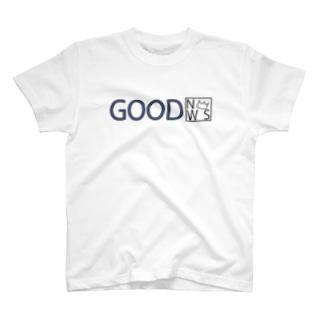 GOOD NEWS T-shirts
