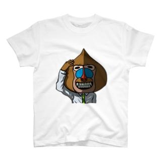 マンドリル(満堂りるを) T-shirts