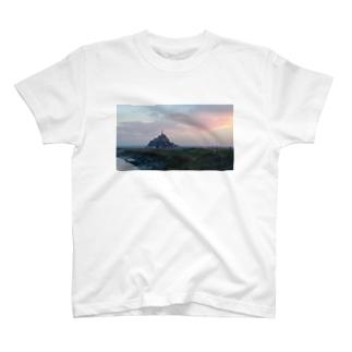 モン・サン・ミッシェル T-shirts