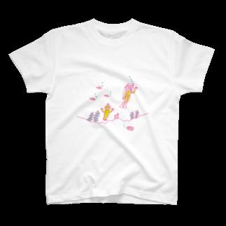 のり norikosatoの半魚人とダイバー T-shirts