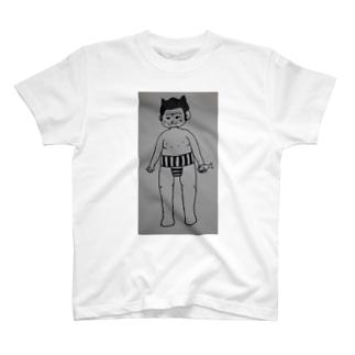 頑張れ!ねこ力士! T-shirts