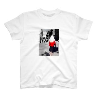 in NY T-shirts