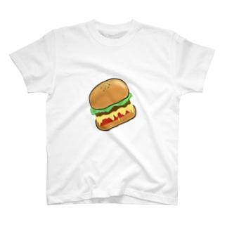 よくあるハンバーガー T-shirts