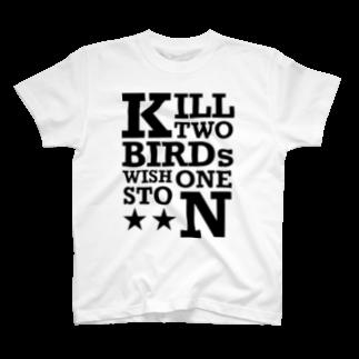 M38 shopの一石二鳥 T-shirts