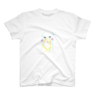 イカくんとヒヨコちゃん T-shirts