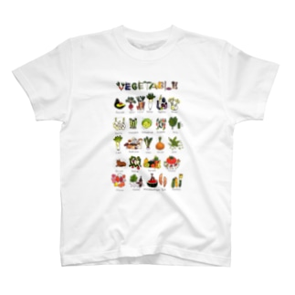 VEGETABLES Tシャツ