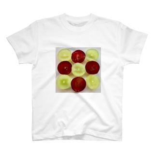 シャインマスカット、ピオーネ T-Shirt