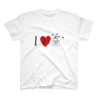 アイラブ コーヒー T-shirts