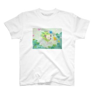 グリーンハリー T-shirts