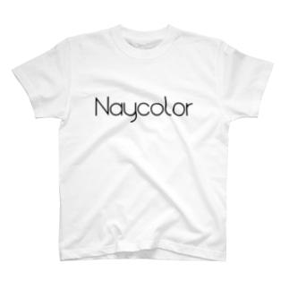 Naycolor ロゴグッズ T-shirts