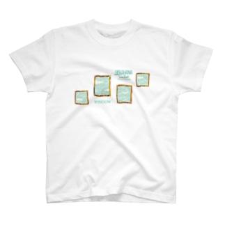 SORAHANAのWINDOW T-shirts