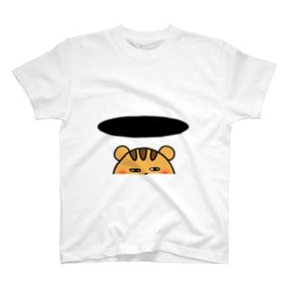 とじこもる  りすさん T-shirts